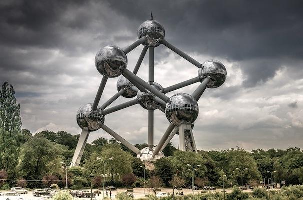 Brussel Belgium Atomium Atom Monument Landmark